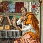 ボッティチェリ 「書斎の聖アウグスティヌス」