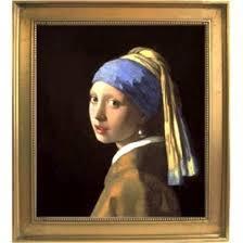 青いターバンの少女(真珠の耳飾りの少女) オランダの モナ・リザと称されるフェルメールの傑作